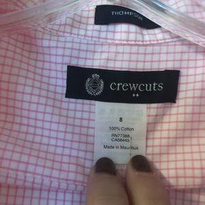 Crewcuts Shirts & Tops - Boys jCrew Crewcuts pink hingham button down S:8